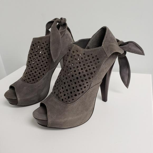 Steve Madden Shoes - Steve Madden Evelina Tie Booties